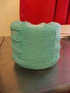 neck brace knit
