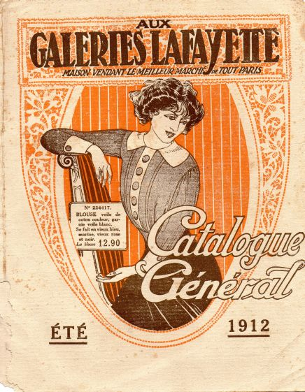 galeries lafayette 1912 cover