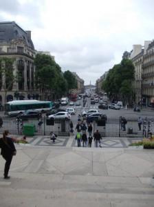 paris madeleine view