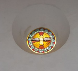 bussiere eglise round window