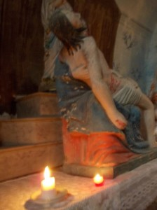 bussiere eglise statue