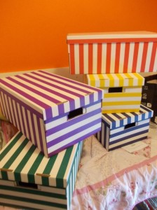 caiti stripey boxes