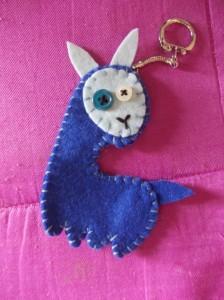 crafty christmas llama