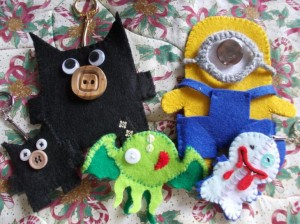 crafty christmas plushies