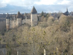 The castle from the viaduct