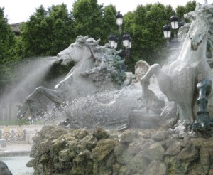 bordo fountain big horses