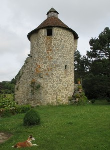 villemonteix chat 13thcent tower