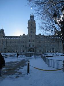 The Parliament building.